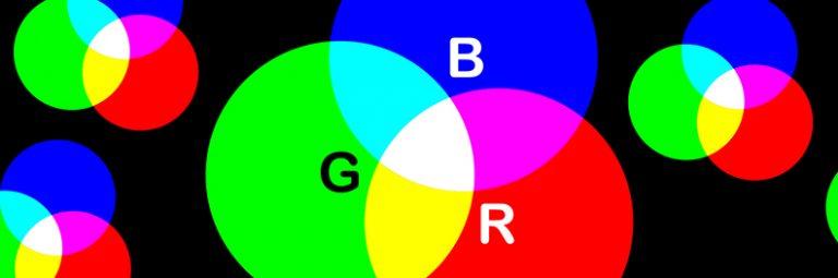 I colori RGB logo aziendale a parma
