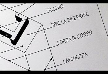 il carattere tipografico